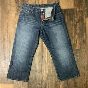 🍀🍀CROPPED LUCKY BRAND JEAN CAPRIS🍀🍀